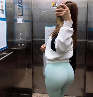 amateur photo Leggings