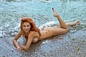 amateur photo Redhead Mermaid