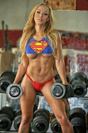 amateur photo Iam SuperGirl!!