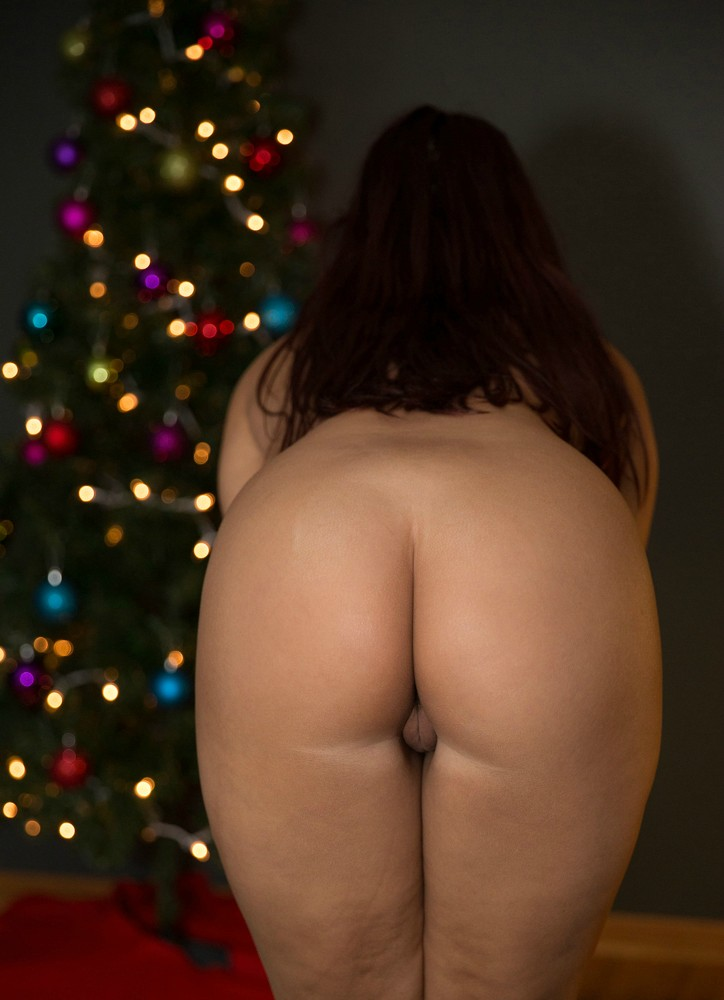 Merry Christmas Rear Pussy