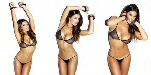 amateur photo Lucy Pinder in handcuffs