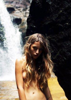 amateur photo Waterfall