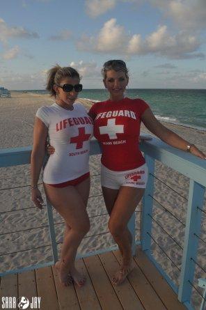 amateur photo Lifeguards