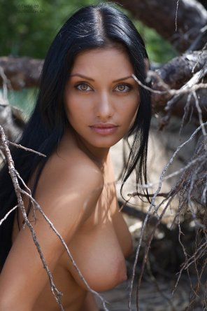 amateur photo If pocahontas were real