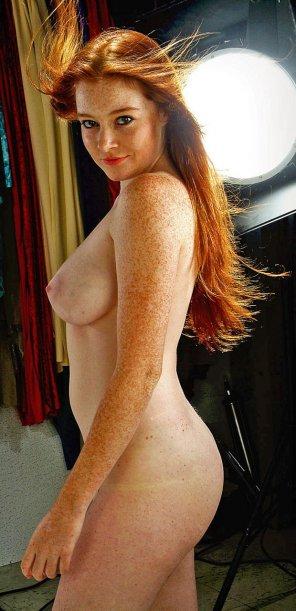 amateur photo Stunning freckles