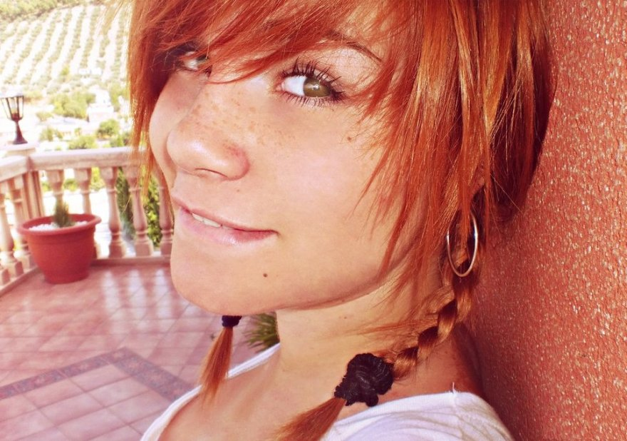Cute redheads with freckles Porn Photo