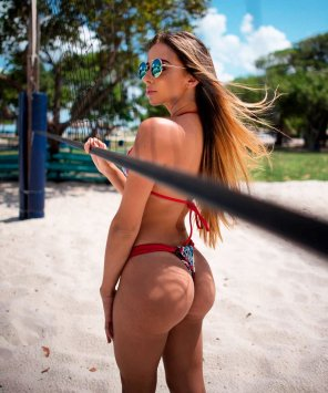amateur photo Divine Round Booty from Hot Bikini Model