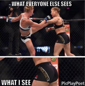 amateur photo Rousey is still a champ in my book