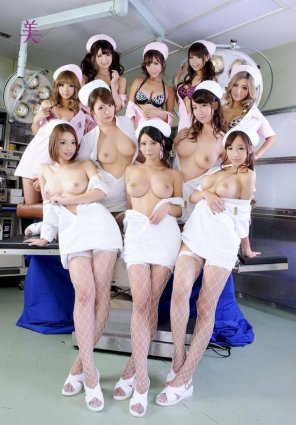 amateur photo Hospital nurses we only dream of