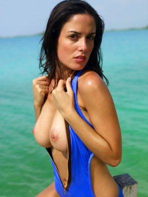 amateur photo lovely bathing suit