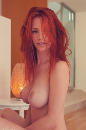 amateur photo beautiful redhead