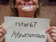 Please verify my cumslut!