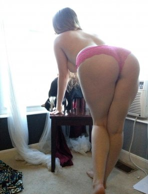 amateur photo Big butt in the morning