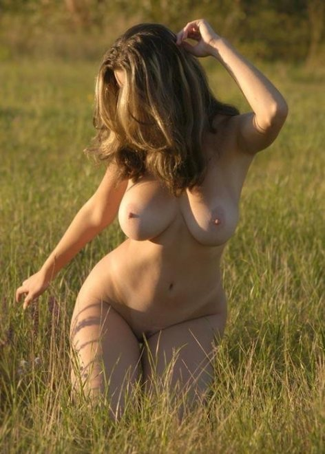 A Walk Through the Field Porn Photo