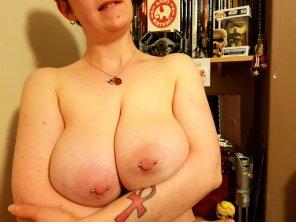amateur photo [F] Birthday titties