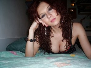 amateur photo Sexy Curly Hair Babe