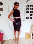 amateur photo Leather Skirt Indian