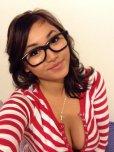 amateur photo Striped shirt