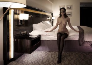 amateur photo In for an interesting night with Maria Demina