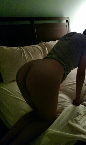 amateur photo Wife ready to rock