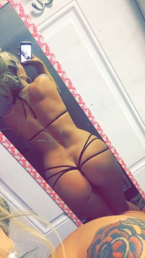 amateur photo A string is a thong right?