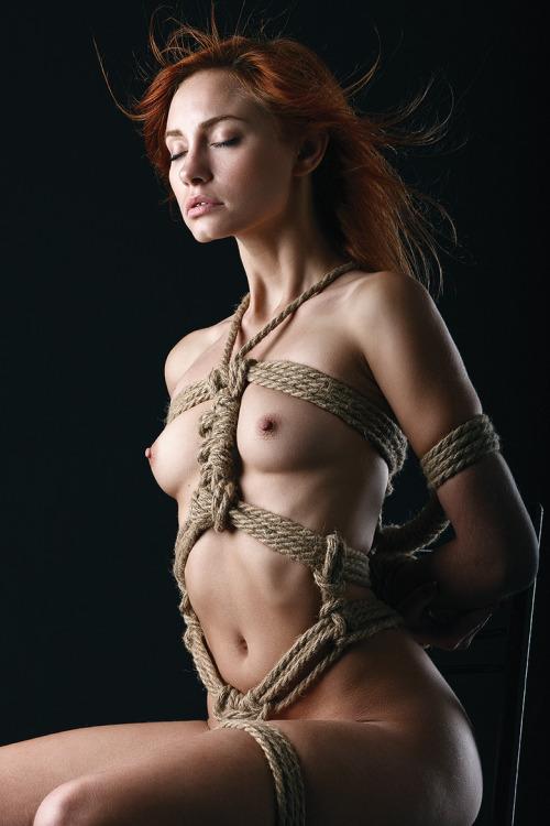 Redhead bondage porno