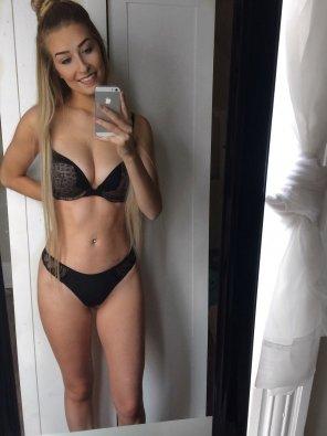 amateur photo Matching Underwear