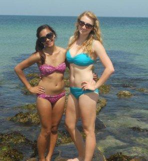 amateur photo Two Bikinis.