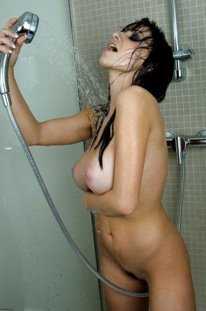 amateur photo Just taking a shower
