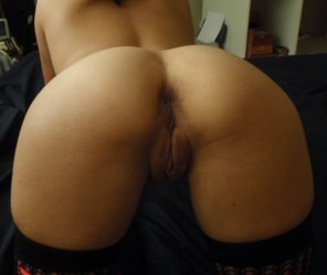 amateur photo Brown amateur pussy from behind