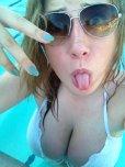 amateur photo That bikini top stands no chance
