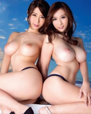amateur photo Asian double