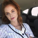 amateur photo South African Redhead Freckle Face