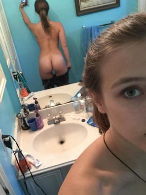 amateur photo Nice firm ass ready for this school year
