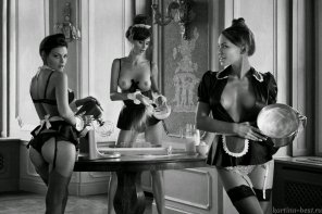 amateur photo My kind of maids