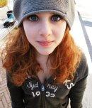 amateur photo Very cute redhead