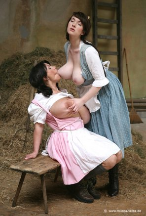 amateur photo Milk maids...