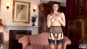 amateur photo 6 clip stockings