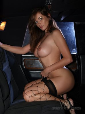 amateur photo Found in the back seat of a limo