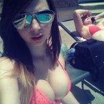amateur photo Dotted bikini