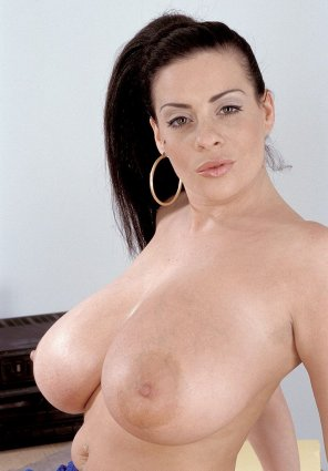 amateur photo Linsey Dawn Mckenzie makes a presentation