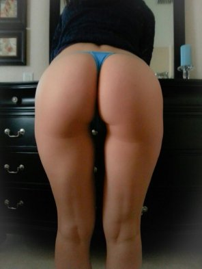 amateur photo The wife in blue, what do you think?