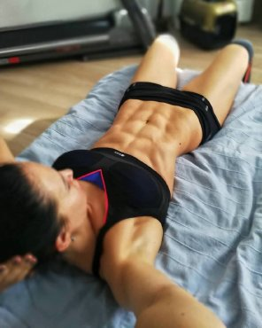 amateur photo Xenia Sheveleva abs