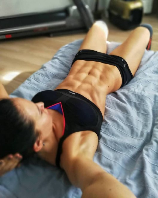 Xenia Sheveleva abs Porn Photo