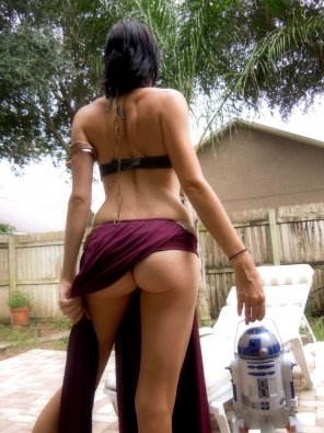 amateur photo Sexy Leia