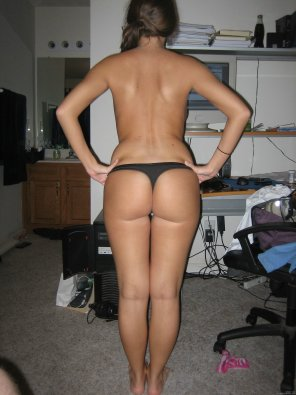amateur photo Nice Ass at Attention