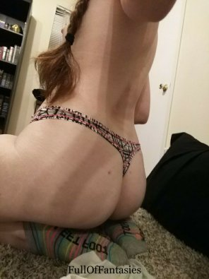 amateur photo I love this thong so much!
