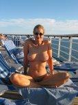 amateur photo Naked on a cruise ship