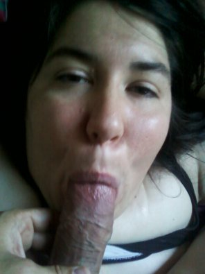 amateur photo she sucks my cock