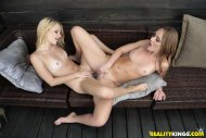 Riley Star and Daisy Stone